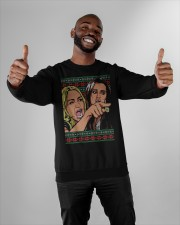 Yelling At A Cat Crewneck Sweatshirt apparel-crewneck-sweatshirt-lifestyle-front-05