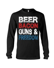 Beer Bacon Guns And Freedom Tank Top Long Sleeve Tee tile