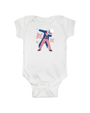 Dabbing Uncle Sam T-shirt Fourth Of July Tank Tops Onesie thumbnail