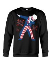 Dabbing Uncle Sam T-shirt Fourth Of July Tank Tops Crewneck Sweatshirt thumbnail