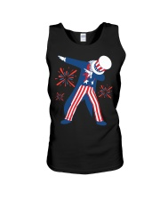 Dabbing Uncle Sam T-shirt Fourth Of July Tank Tops Unisex Tank thumbnail