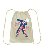 Dabbing Uncle Sam T-shirt Fourth Of July Tank Tops Drawstring Bag thumbnail