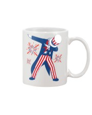Dabbing Uncle Sam T-shirt Fourth Of July Tank Tops Mug thumbnail