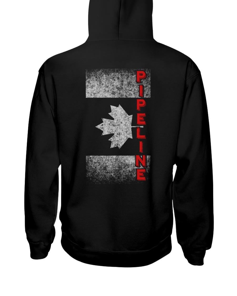 Canadian Pipeline Shirt Hooded Sweatshirt