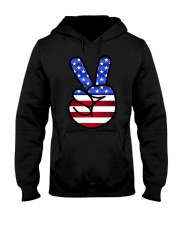 Black Hoodie Hooded Sweatshirt front