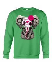 Elephant Cute Crewneck Sweatshirt thumbnail