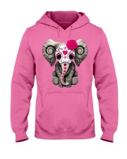 Elephant Cute Hooded Sweatshirt thumbnail