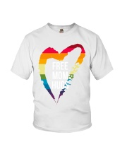 Fr-ee Mom Hug With Heart Youth T-Shirt thumbnail
