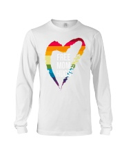 Fr-ee Mom Hug With Heart Long Sleeve Tee front