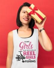 REEL GIRLS GO FISHING Unisex Tank apparel-tshirt-unisex-sleeveless-lifestyle-front-04