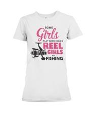 REEL GIRLS GO FISHING Premium Fit Ladies Tee thumbnail