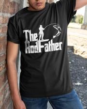 The Rodfather Tshirt Classic T-Shirt apparel-classic-tshirt-lifestyle-27