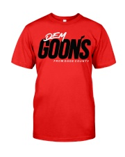 Kendrick Perkins Dem Goons from dade county shirt Classic T-Shirt front