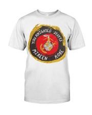 You knighted states mirren kore Veteran shirt Classic T-Shirt front