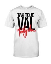 Fattypillow Merch Mikina Vál Bílá t-shirt Classic T-Shirt front