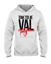 Fattypillow Merch Mikina Vál Bílá t-shirt Hooded Sweatshirt thumbnail