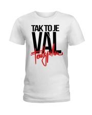 Fattypillow Merch Mikina Vál Bílá t-shirt Ladies T-Shirt thumbnail