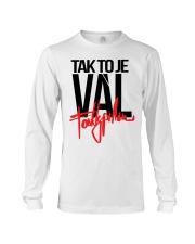 Fattypillow Merch Mikina Vál Bílá t-shirt Long Sleeve Tee thumbnail