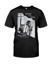 By any means necessary t-shirt unisex Classic T-Shirt front