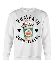 Pumpkin spice connoisseur shirt Crewneck Sweatshirt thumbnail