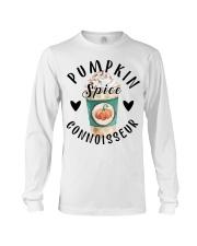 Pumpkin spice connoisseur shirt Long Sleeve Tee thumbnail