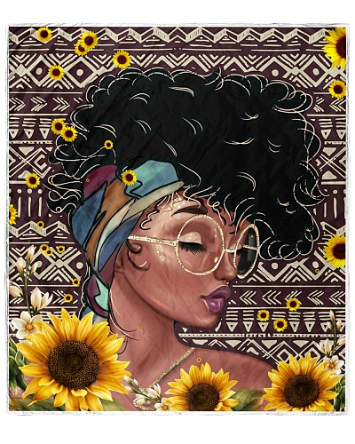 Black Woman Sunflower