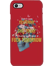 Life - Skull and Tattoo Phone Case i-phone-7-case