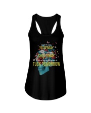 Life - Skull and Tattoo Ladies Flowy Tank front
