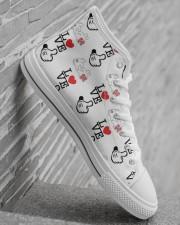 Shoeb love d 1 Men's High Top White Shoes aos-complex-men-white-high-top-shoes-lifestyle-inside-right-22