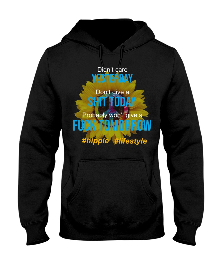 Flower Child Hooded Sweatshirt