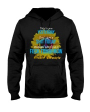 Flower Child Hooded Sweatshirt front