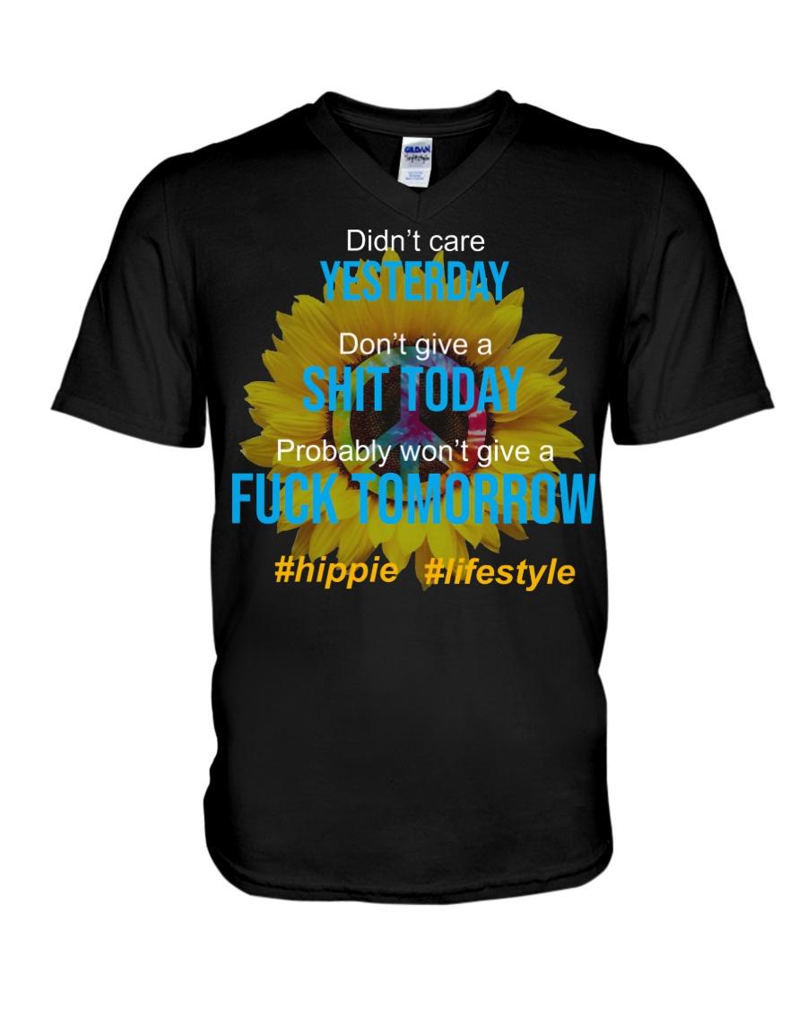 Flower Child V-Neck T-Shirt