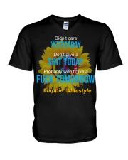 Flower Child V-Neck T-Shirt thumbnail