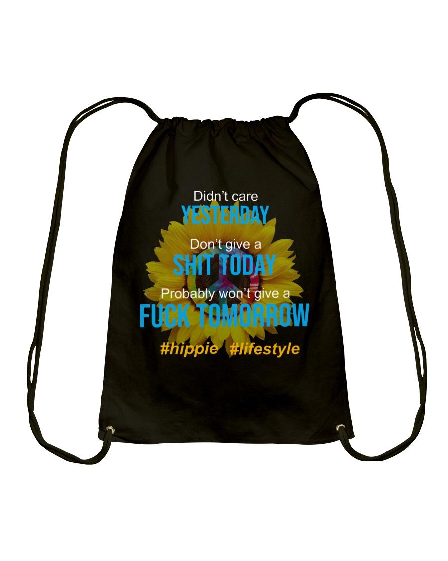 Flower Child Drawstring Bag