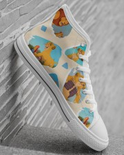 Shoe lion 2 Men's High Top White Shoes aos-complex-men-white-high-top-shoes-lifestyle-inside-right-22