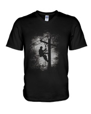 Gift For Lineman TShirt  Lineman TShirts For Men V-Neck T-Shirt thumbnail