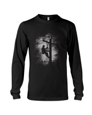 Gift For Lineman TShirt  Lineman TShirts For Men Long Sleeve Tee thumbnail