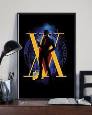 Hunter x Hunter - Leorio Paradinight Silhouette 11x17 Poster lifestyle-poster-2