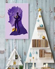 Hunter x Hunter - Leorio Paradinight Purple 11x17 Poster lifestyle-holiday-poster-2