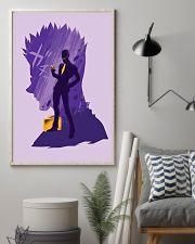 Hunter x Hunter - Leorio Paradinight Purple 11x17 Poster lifestyle-poster-1