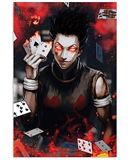 Hunter x Hunter Hisoka Card Red Eye 11x17 Poster front