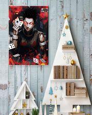Hunter x Hunter Hisoka Card Red Eye 11x17 Poster lifestyle-holiday-poster-2