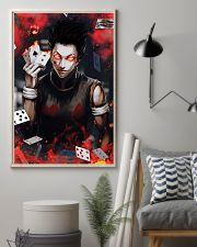 Hunter x Hunter Hisoka Card Red Eye 11x17 Poster lifestyle-poster-1
