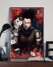 Hunter x Hunter Hisoka Card Red Eye 11x17 Poster lifestyle-poster-2
