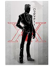 Leorio Paradinight Red And Silhouette 11x17 Poster front