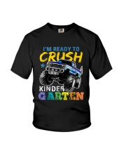 I'M READY TO CRUSH KINDERGARTEN 3 Youth T-Shirt front