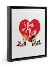 lucy love  11x14 Black Floating Framed Canvas Prints thumbnail