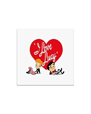 lucy love  Square Magnet thumbnail