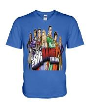 the big bang theory V-Neck T-Shirt front