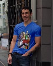 the big bang theory V-Neck T-Shirt lifestyle-mens-vneck-front-1